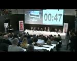Lednová debata devíti kandidátů na prezidenta serveru IDNES