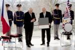 Václav Klaus a Ivan Gašparovič v brněnské vile Tugendhadt 12