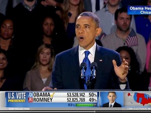 Současný prezident Barack Obama obhájil prezidentský post v USA