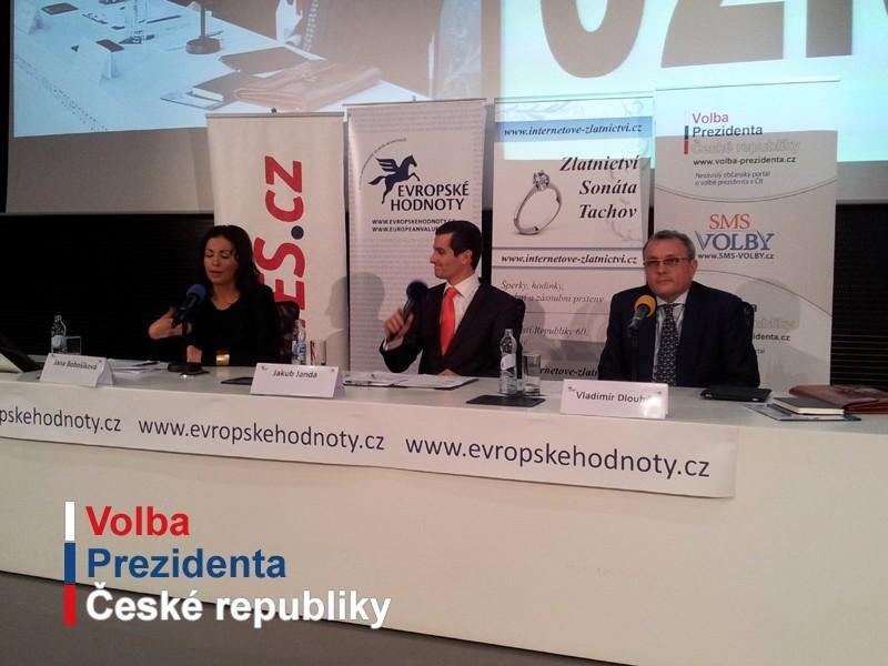 Druhá debata kandidátů na prezidenta o evropské vizi