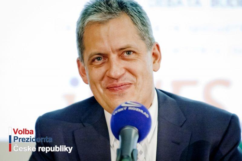 Kandidát Jiří Dienstbier ml. v reportáži české televize
