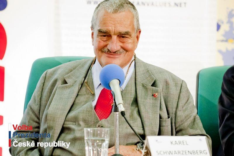 Druhé kolo: Miloš Zeman a Karel Schwarzenberg
