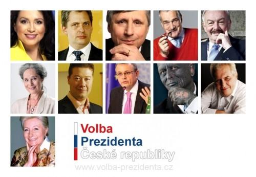 Oficiální kandidáti na prezidenta Českérepubliky 2013