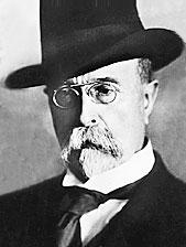 Prezident Tomáš Garrigue Masaryk