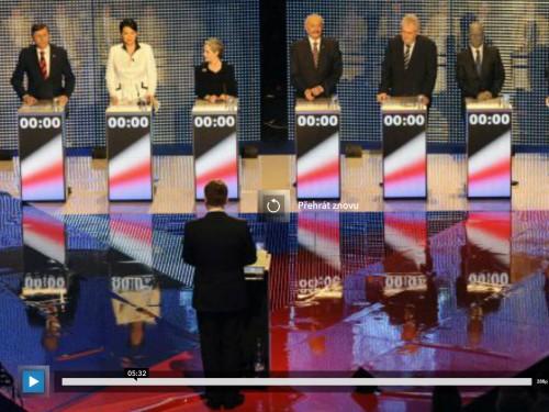 Poslední slovo od kandidátů voličům před volbami