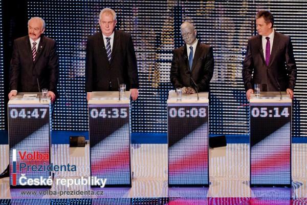Vyjádření kandidátů k výsledkům prvního kola