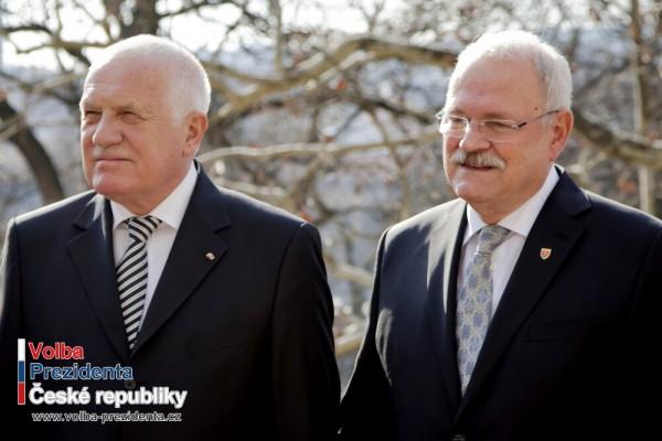 Státníci ČR a SR si v Brně udělili vyznamenání