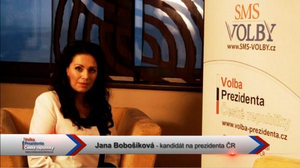 Video pozdrav Jana Bobošíková