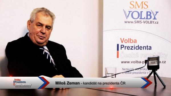Video pozdrav Miloš Zeman