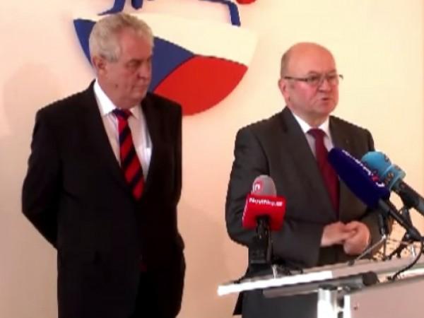 Vladimír Remek podporuje Miloše Zemena