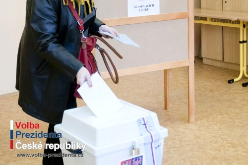Volební místnosti a způsob hlasování v prezidentských volbách