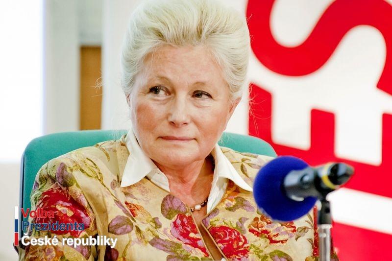 Kandidátka Zuzana Roithová v reportáži ČT