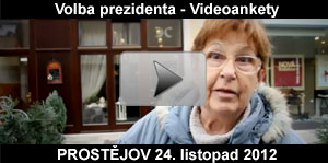 Video ankety a průzkumy k volbě prezidenta ČR - Prostějov